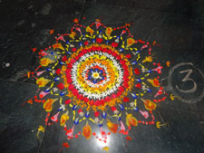 floral-rangoli-competition