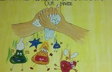 Poster Making - World Handwashing Day 2020-21